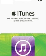 iTUNES GIFT CARD 10
