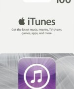 iTUNES GIFT CARD 100