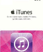iTUNES GIFT CARD 2000