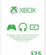 XBOX Card $25