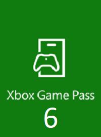 Xbox Game Pass 6 месяцев