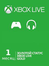 Xbox Live Gold 1 месяц